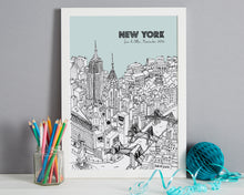 Load image into Gallery viewer, Personalised New York Print-3