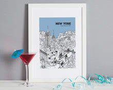 Load image into Gallery viewer, Personalised New York Print-7