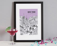 Load image into Gallery viewer, Personalised New York Print-1