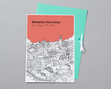 Load image into Gallery viewer, Personalised Newcastle Graduation Gift
