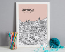 Load image into Gallery viewer, Personalised Newcastle Print-3