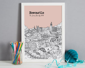 Personalised Newcastle Print-3