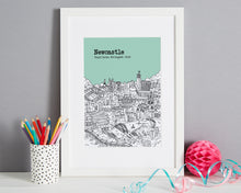 Load image into Gallery viewer, Personalised Newcastle Print-1