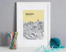 Load image into Gallery viewer, Personalised Newcastle Print-8