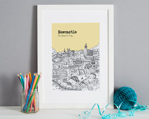 Personalised Newcastle Print-8