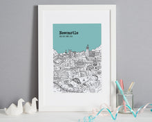 Load image into Gallery viewer, Personalised Newcastle Print-7