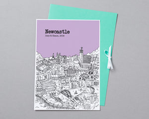 Personalised Newcastle Print-6