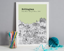 Load image into Gallery viewer, Personalised Nottingham Graduation Gift