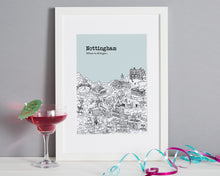 Load image into Gallery viewer, Personalised Nottingham Print-6