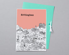 Load image into Gallery viewer, Personalised Nottingham Print-5
