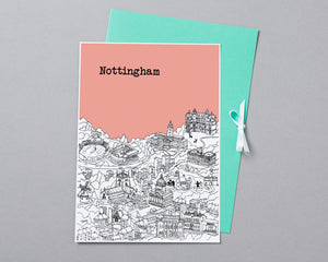 Personalised Nottingham Print-5