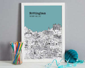 Personalised Nottingham Print-7