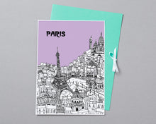 Load image into Gallery viewer, Personalised Paris Print-3