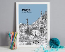 Load image into Gallery viewer, Personalised Paris Print-7