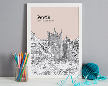 Load image into Gallery viewer, Personalised Perth Print-7