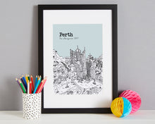 Load image into Gallery viewer, Personalised Perth Print-4