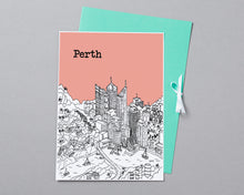 Load image into Gallery viewer, Personalised Perth Print-5