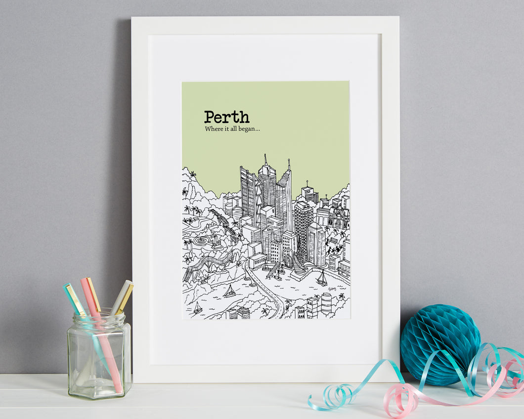 Personalised Perth Print-1