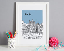Load image into Gallery viewer, Personalised Perth Print-6