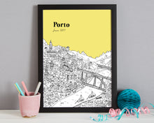 Load image into Gallery viewer, Personalised Porto Print-4