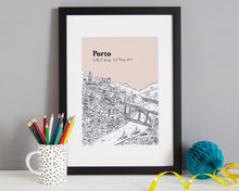 Load image into Gallery viewer, Personalised Porto Print-6