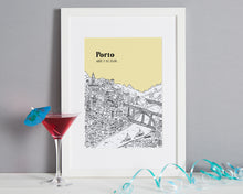 Load image into Gallery viewer, Personalised Porto Print-1
