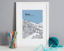 Load image into Gallery viewer, Personalised Porto Print-5