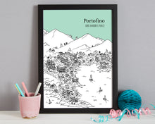 Load image into Gallery viewer, Personalised Portofino Print-7