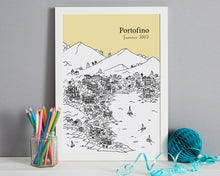 Load image into Gallery viewer, Personalised Portofino Print-4