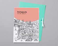Load image into Gallery viewer, Personalised Portsmouth Print-7