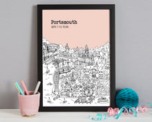 Load image into Gallery viewer, Personalised Portsmouth Print-6