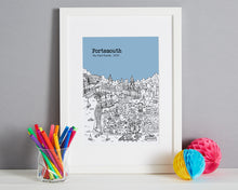 Load image into Gallery viewer, Personalised Portsmouth Print-4