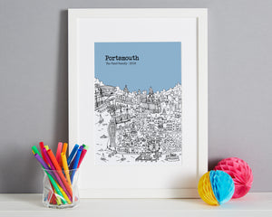 Personalised Portsmouth Print-4