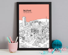 Load image into Gallery viewer, Personalised Salford Print-4