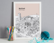 Load image into Gallery viewer, Personalised Salford Print-3