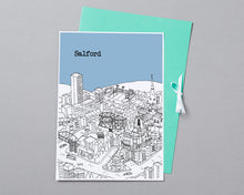 Load image into Gallery viewer, Personalised Salford Print-6