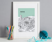 Load image into Gallery viewer, Personalised Salford Print-1