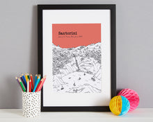 Load image into Gallery viewer, Personalised Santorini Print-4