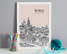 Load image into Gallery viewer, Personalised Seville Print-6