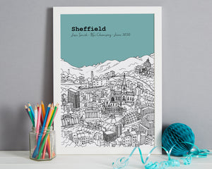 Personalised Sheffield Graduation Gift