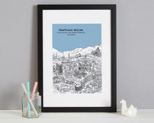 Load image into Gallery viewer, Personalised Sheffield Graduation Gift