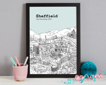 Load image into Gallery viewer, Personalised Sheffield Print-8