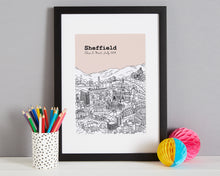 Load image into Gallery viewer, Personalised Sheffield Print-3