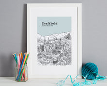 Load image into Gallery viewer, Personalised Sheffield Print-7