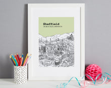 Load image into Gallery viewer, Personalised Sheffield Print-1