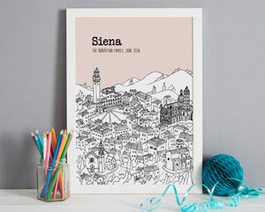 Personalised Siena Print-5