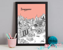 Load image into Gallery viewer, Personalised Singapore Print-3