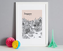 Load image into Gallery viewer, Personalised Singapore Print-6