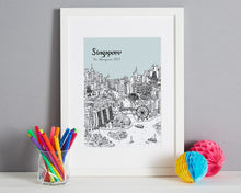 Load image into Gallery viewer, Personalised Singapore Print-1