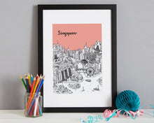 Load image into Gallery viewer, Personalised Singapore Print-4